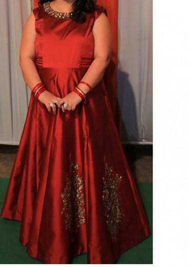 maroon-gown-xxl-size-big-1