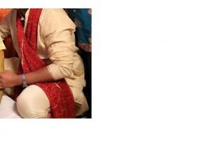 golden-sherwani-with-maroon-dupata-small-2