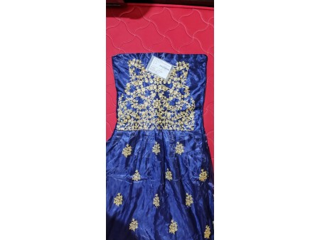 Unstitched gown