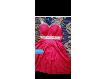 Red barbie gown