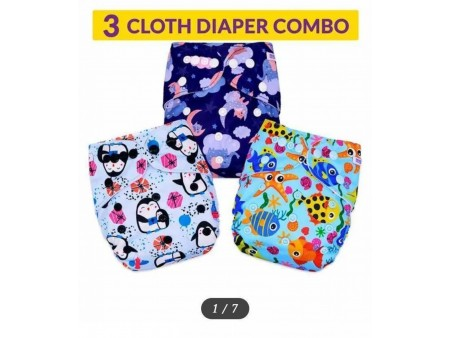 Brand New 3 Cloth Diaper Combo