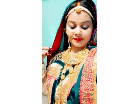 Beautiful kundan jewelry