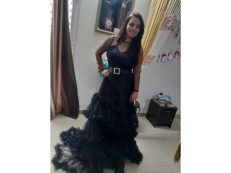 Beautiful Black designer gown