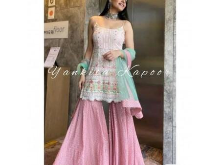 New Pink Sharara