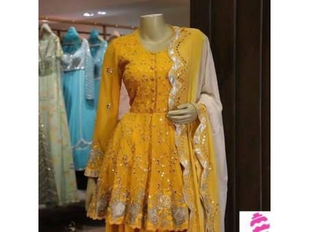New Yellow Sharara