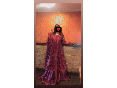 Mehroon Dress